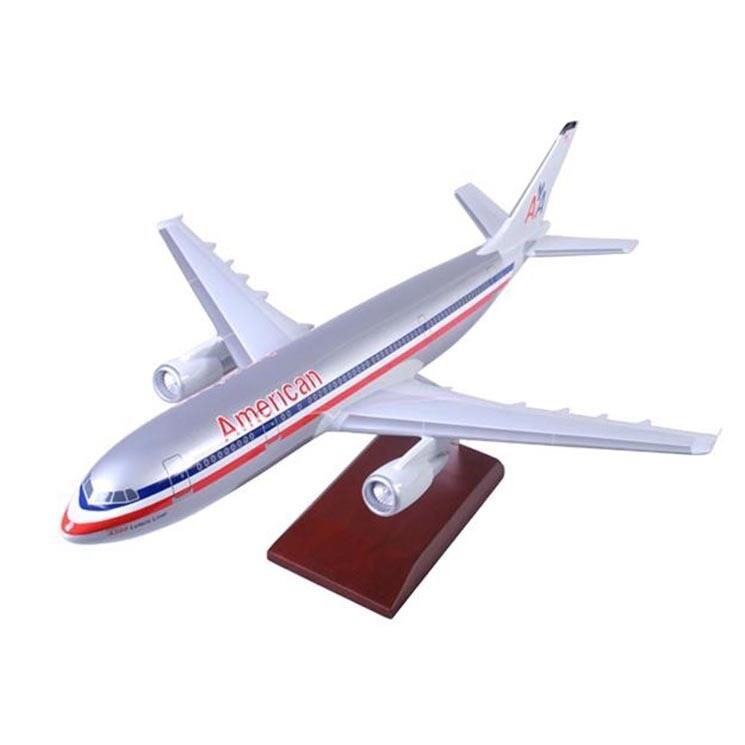 A300-600 American 1/100 Model Airplane