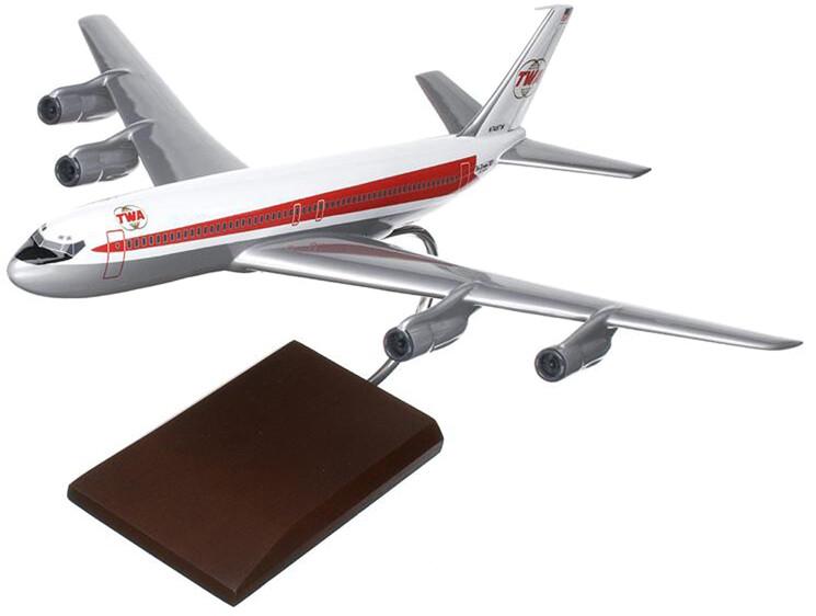 B707-320 TWA Model Airplane