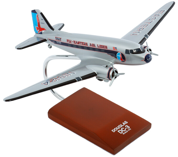 DC-3 Eastern Model Airplane