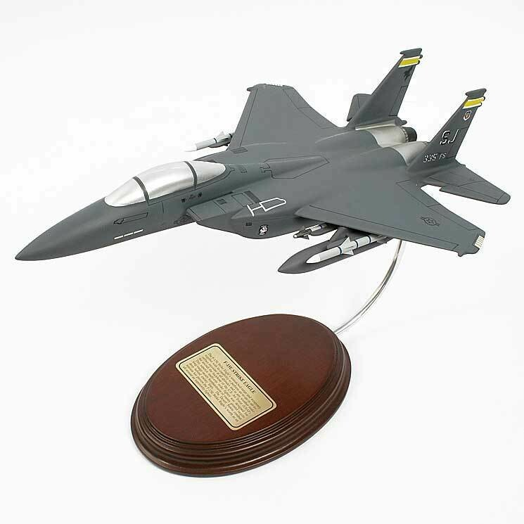 McDonnell Douglas F-15E Strike Eagle 1/63 Desktop Model Airplane