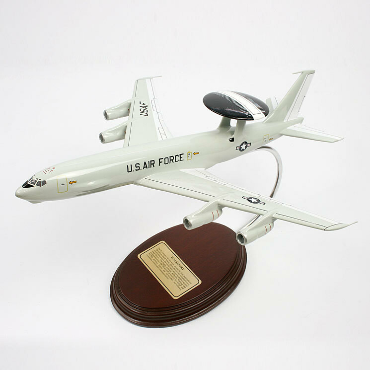 Boeing E-3A Sentry 1/152 Airborne Early Warning and Control Desktop Model Aircraft