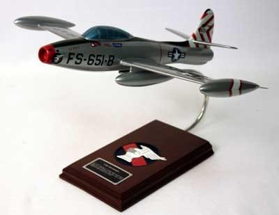 F-84G Thunderjet Model Airplane