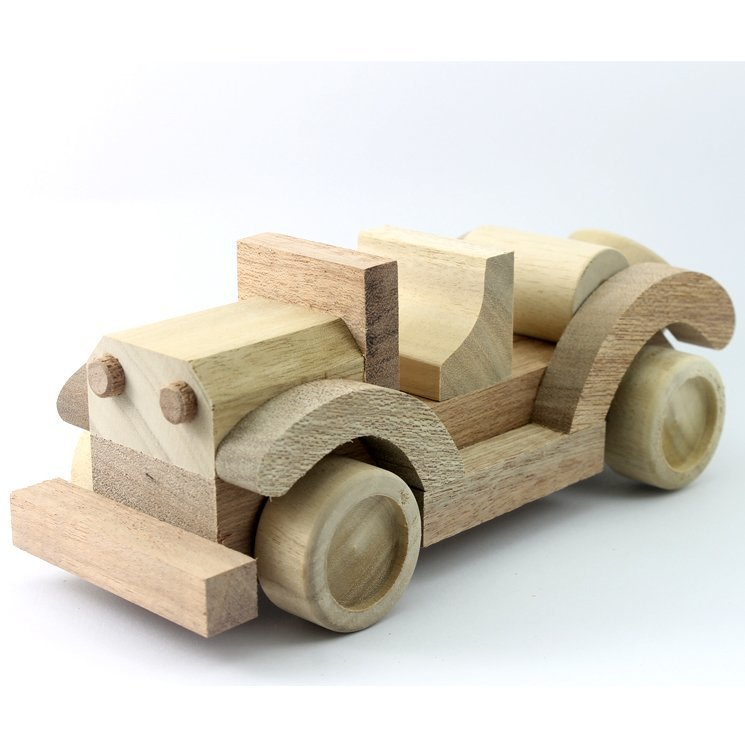 Wooden Toy Convertible 9.0 Inches (Length)