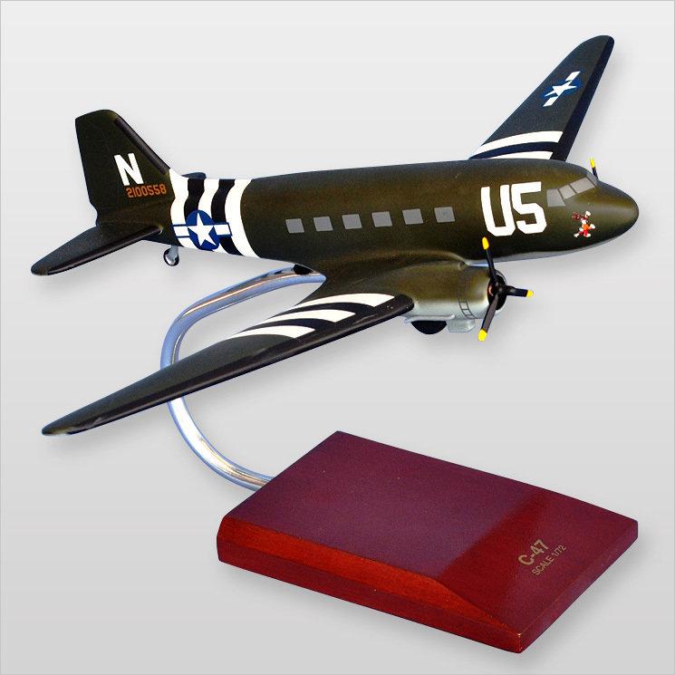 C-47A Skytrain (Olive) Model Airplane