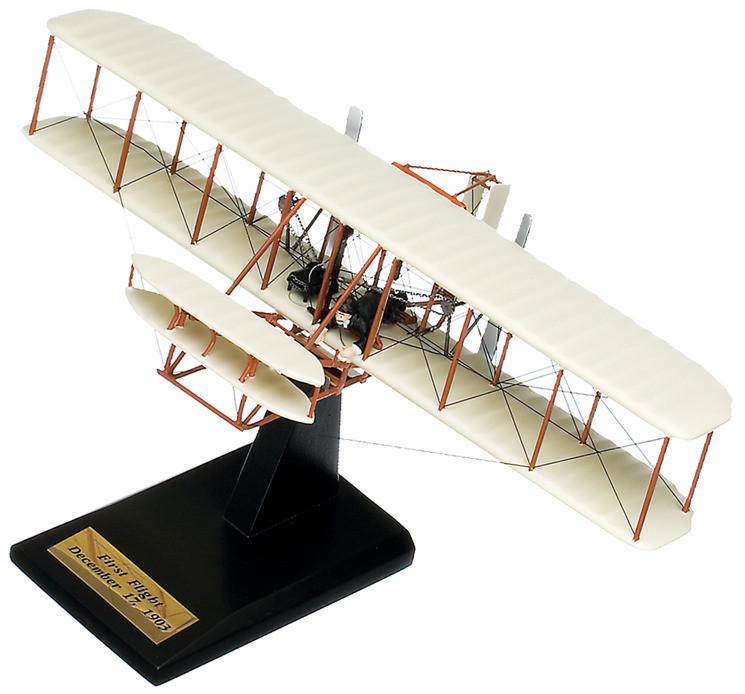 "Wright Flyer ""Kitty Hawk"" Wood Model Airplane (Large)"