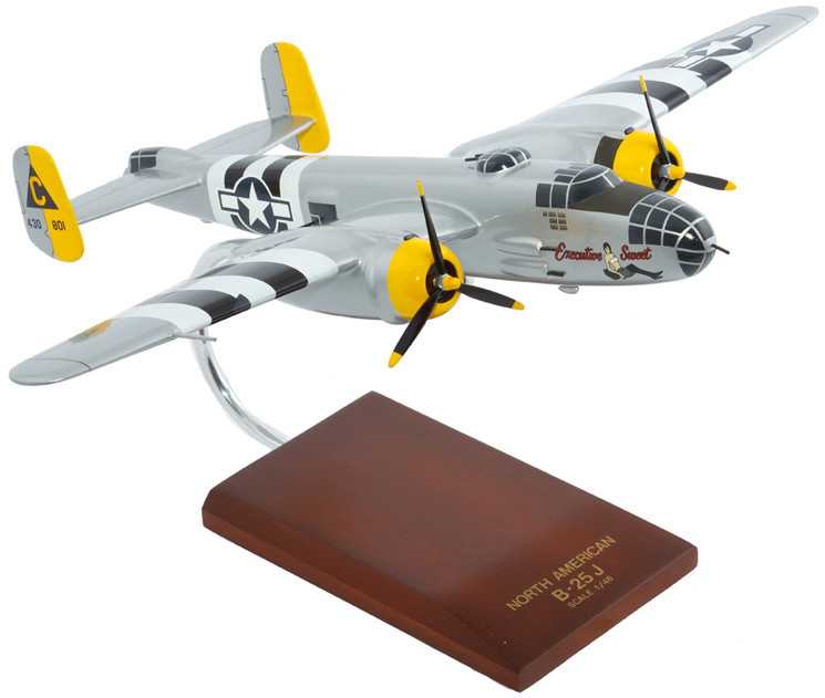 B-25J Mitchell (Executive Sweet) 1/48 Scale Model Aircraft
