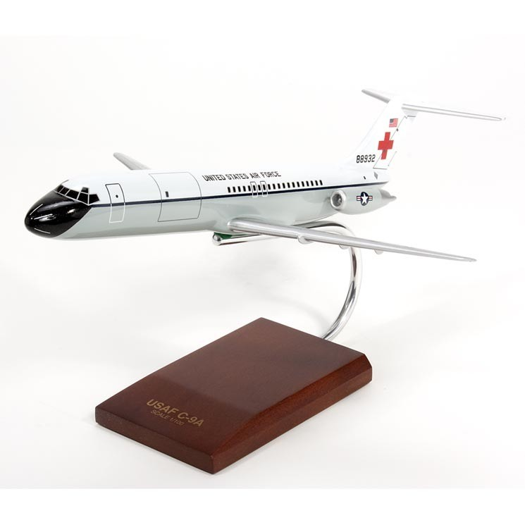 C-9A Nightingale 1/100 Scale Model Aircraft