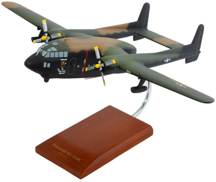 AC-119K Stinger 1/72 Scale Model Aircraft