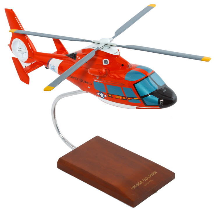 HH-65A Dolphin 1/32 Helicopter Scale Model