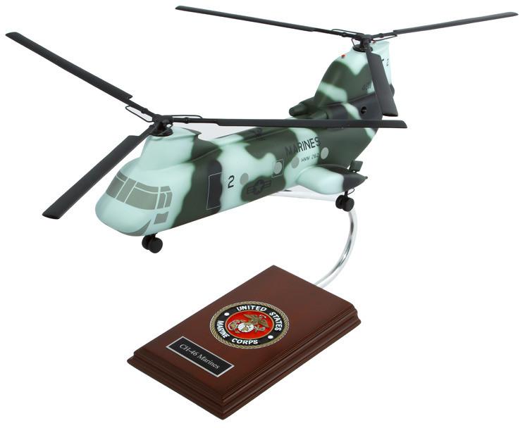CH-46 Marines Model Airplane