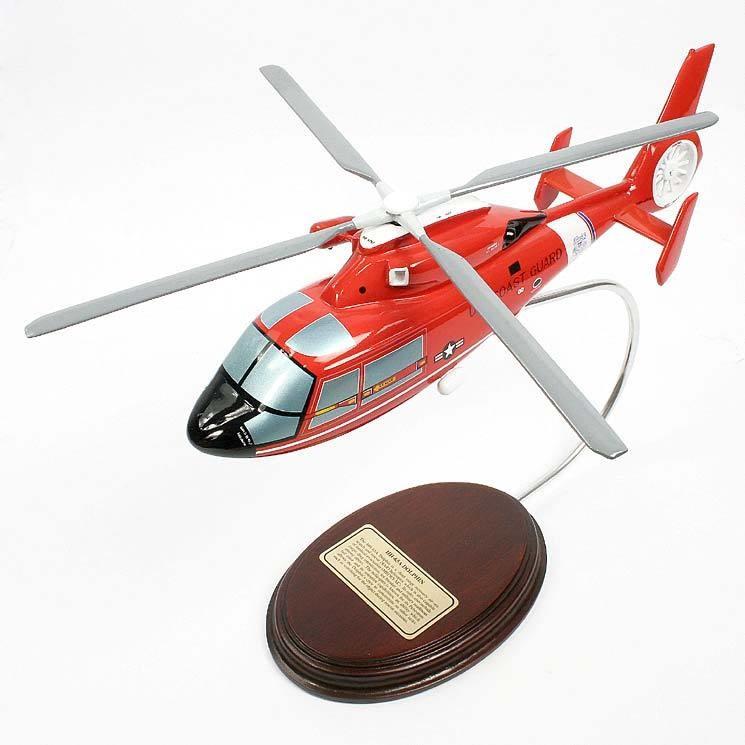 Sikorsky HH-65A Dolphin 1/38 Desktop Helicopter Model