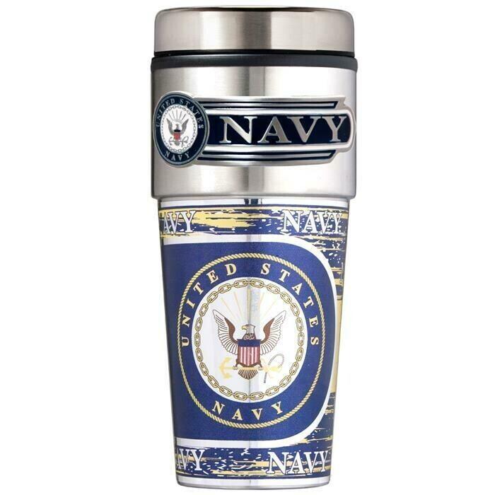 US Navy Stainless Steel 16 oz Tumbler