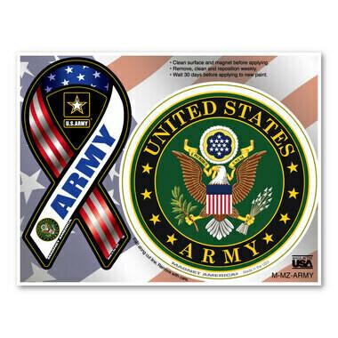 US Army Magnet Pair