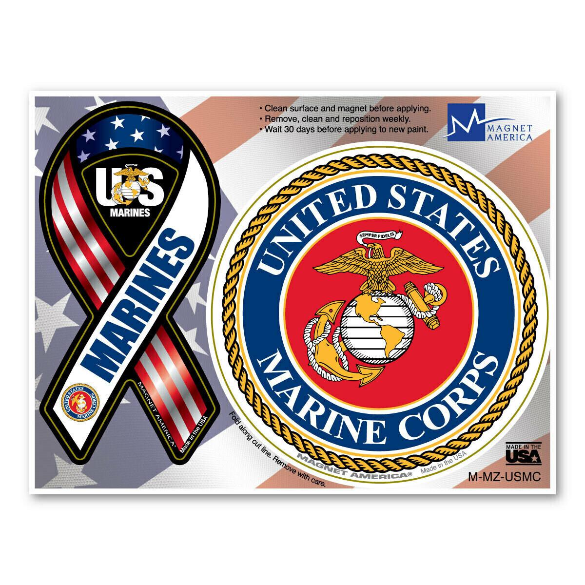 US Marines Magnet Pair