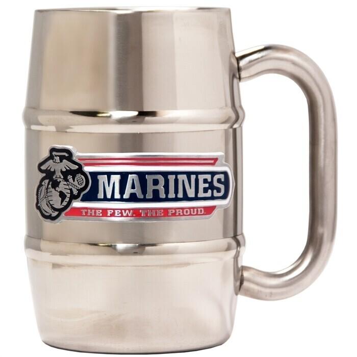 US Marine Corps Stainless Steel Barrel Mug