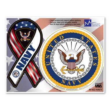 US Navy Magnet Pair