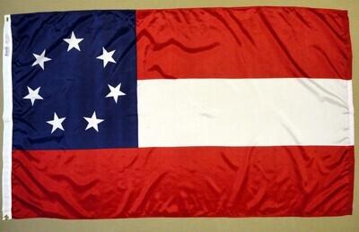 1st National Flag - 5 x 8