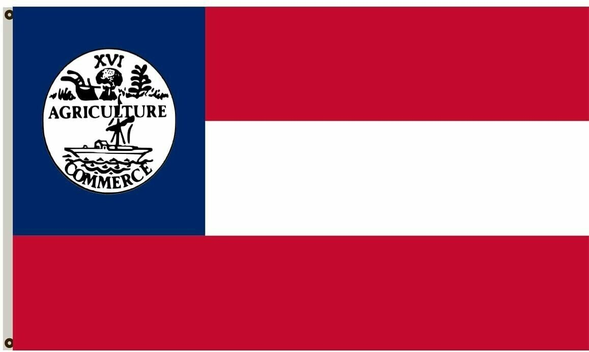 Tennessee CSA 1861 State Confederate Flag