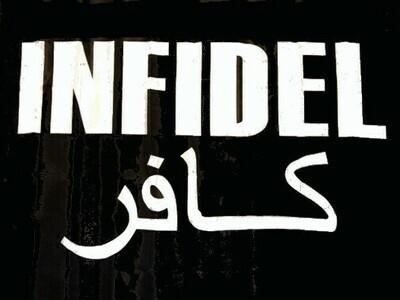Infidel Flag - Black