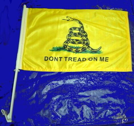 Don't Tread On Me Window Flag