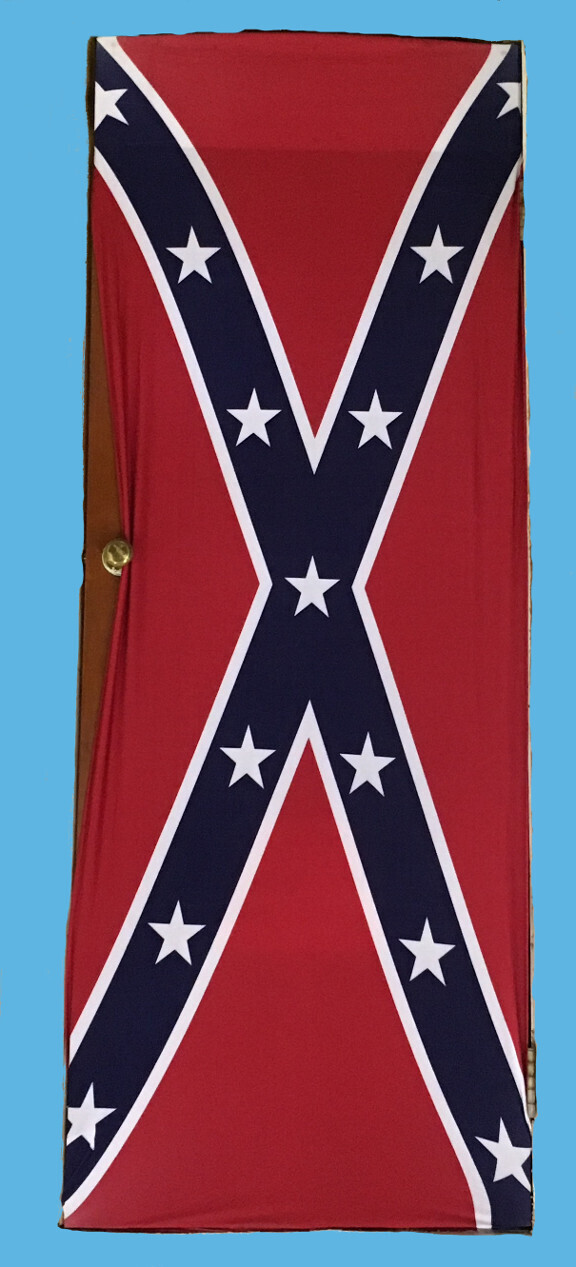 Confederate Flag Door Cover