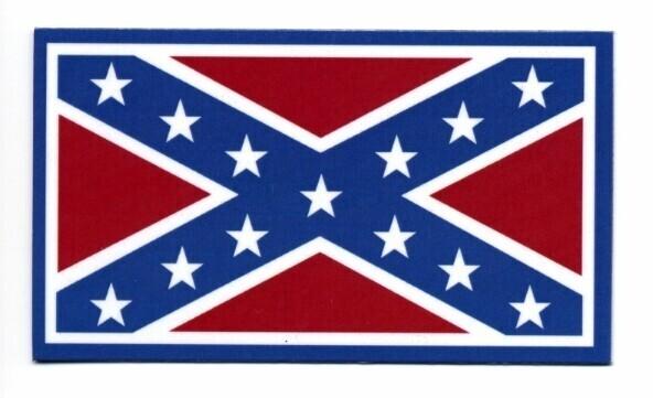 Confederate Flag Magnet - Small