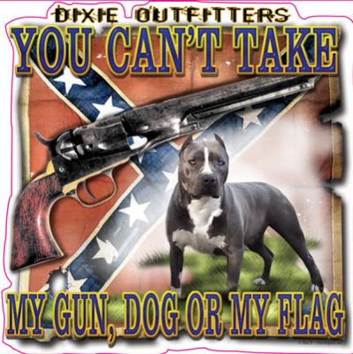 You Can't Take Square Sticker by Dixie Outfitters®