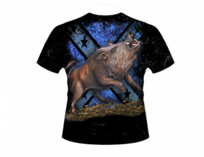 Wild Boar Hog Hunting All Over Shirt By Dixie Outfitters®