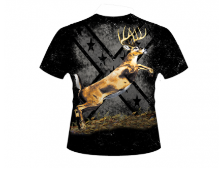 Whitetail Hunting All Over Shirt By Dixie Outfitters®