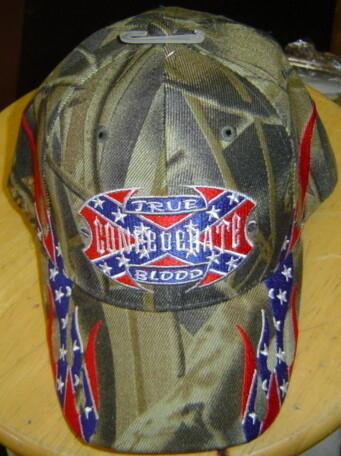 True Confederate Blood Hat