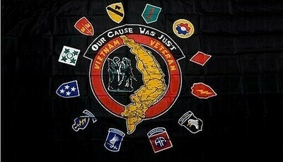 US Army Vietnam Veterans Flag