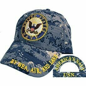 United States Navy Hat - By Sea. Air, and Land