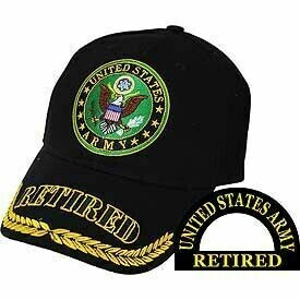 United States Army Retired Hat