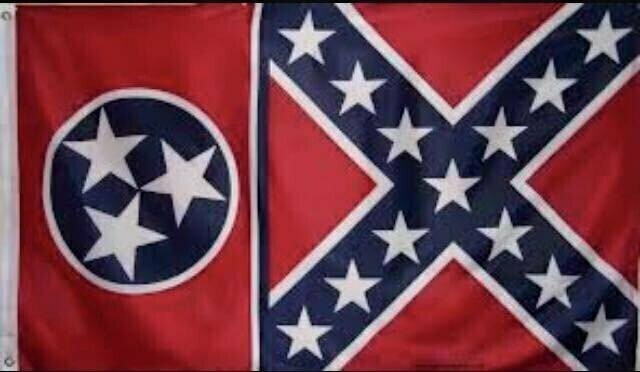 Tennessee / Battle Flag Combo