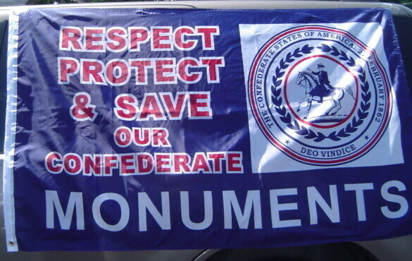 Respect, Protect, and Save Our Monuments Flag