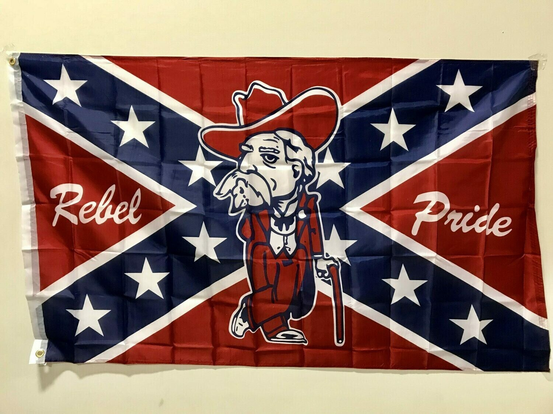 Rebel Pride W/ Old Colonel Flag