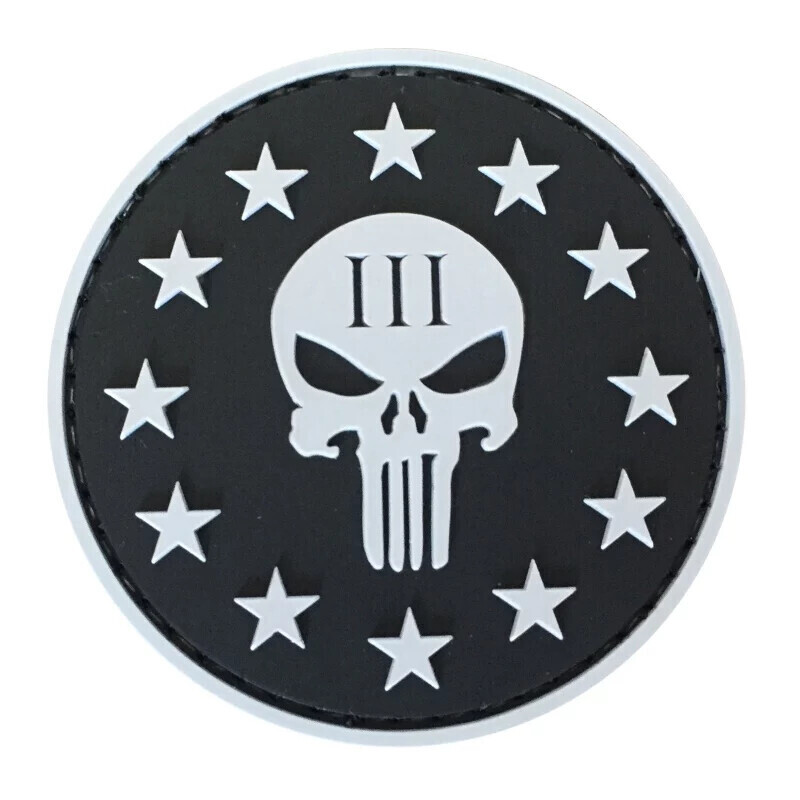 Punisher III% PVC Patch