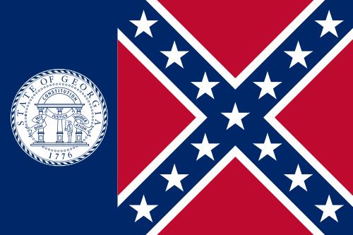 Old Ga. 1956 Flag (True Georgia Flag)