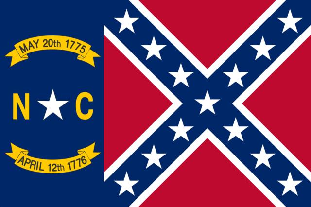 North Carolina Battle (Yellow Letters)