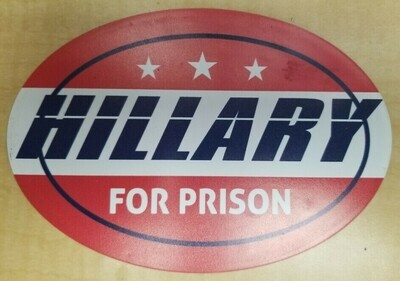 Hillary For Prison Magnet