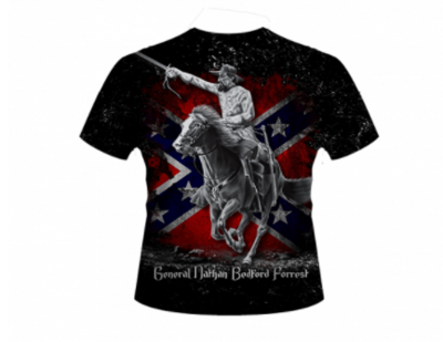 General Nathan Bedford Forrest Charging by Dixie Outfitters®