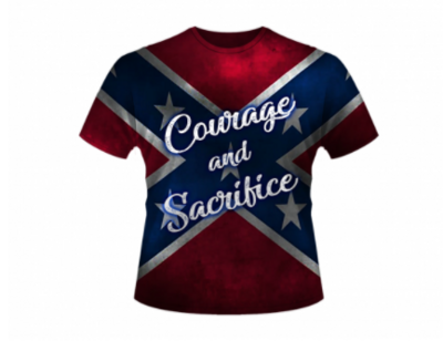 Courage and Sacrifice All Over Shirt by Dixie Outfitters®