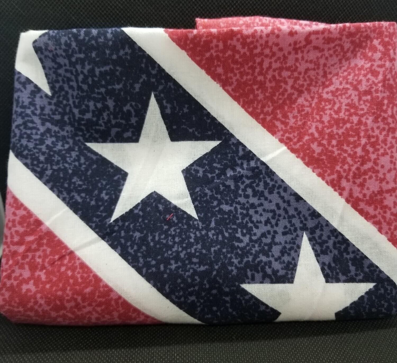 Distressed Battle Flag Bandana - Full Size