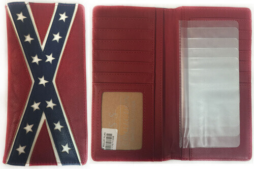 Confederate Leather Bifold Wallet (Long)