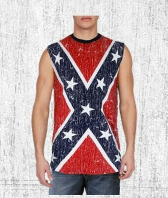 Confederate Men's Muscle Shirt