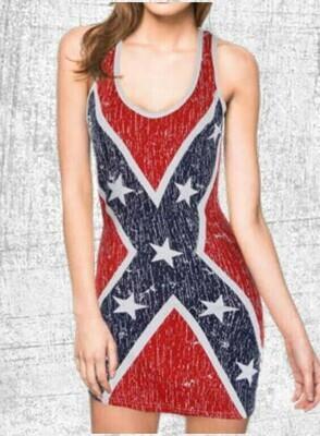 Confederate Ladies Extra Long Shirt