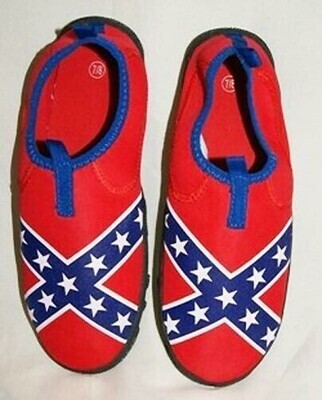 Confederate Flag Water Shoes