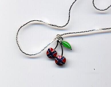 Confederate Cherries Necklace