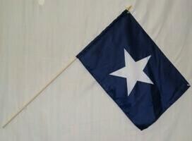 Bonnie Blue Gravesite Stick Flag
