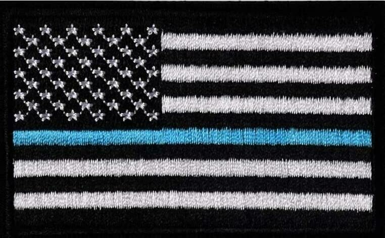 Blue Lives Matter - Velcro Hat Patch